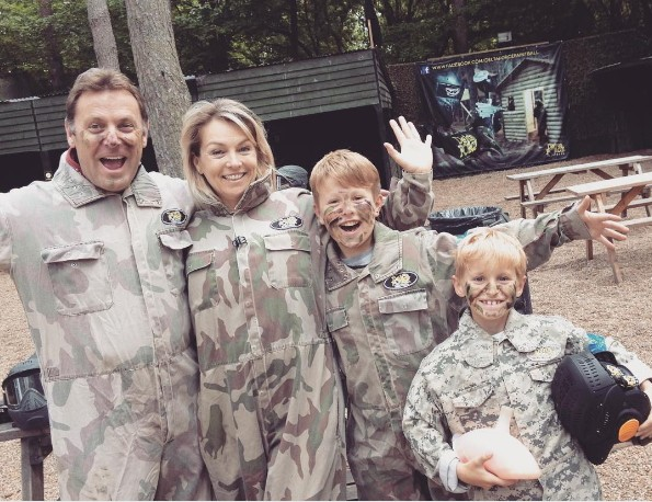 mothers day paintball parties at Delta Force