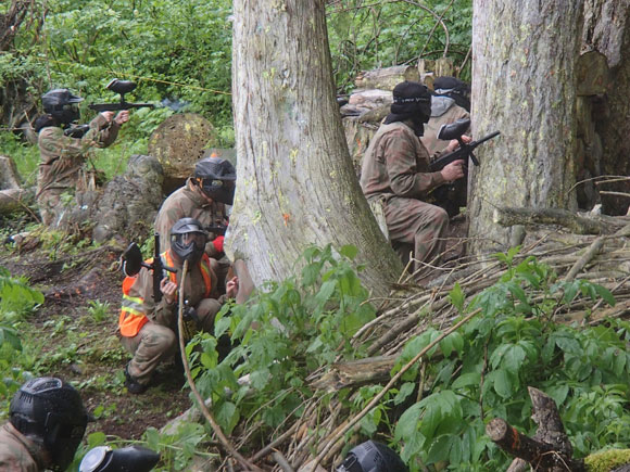 Jungle Attack - Delta Force Paintball Canada