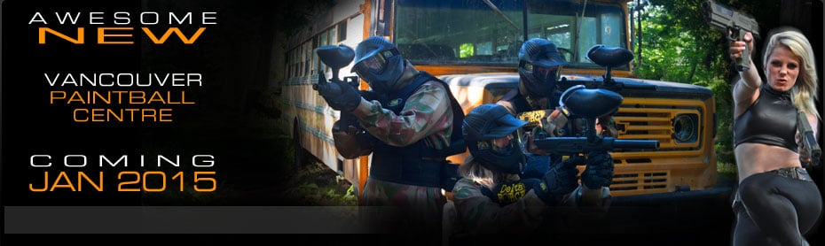 Awesome New Vancouver Paintball Centre