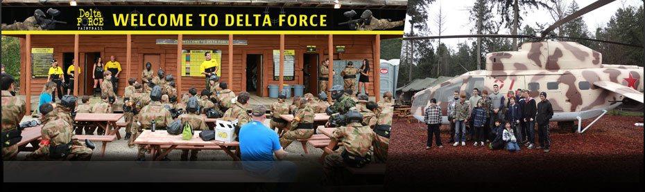 Delta Force Paintball Basecamp